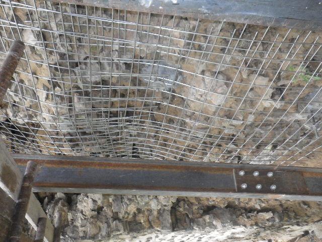 Cementová injektáž - tahová kotva