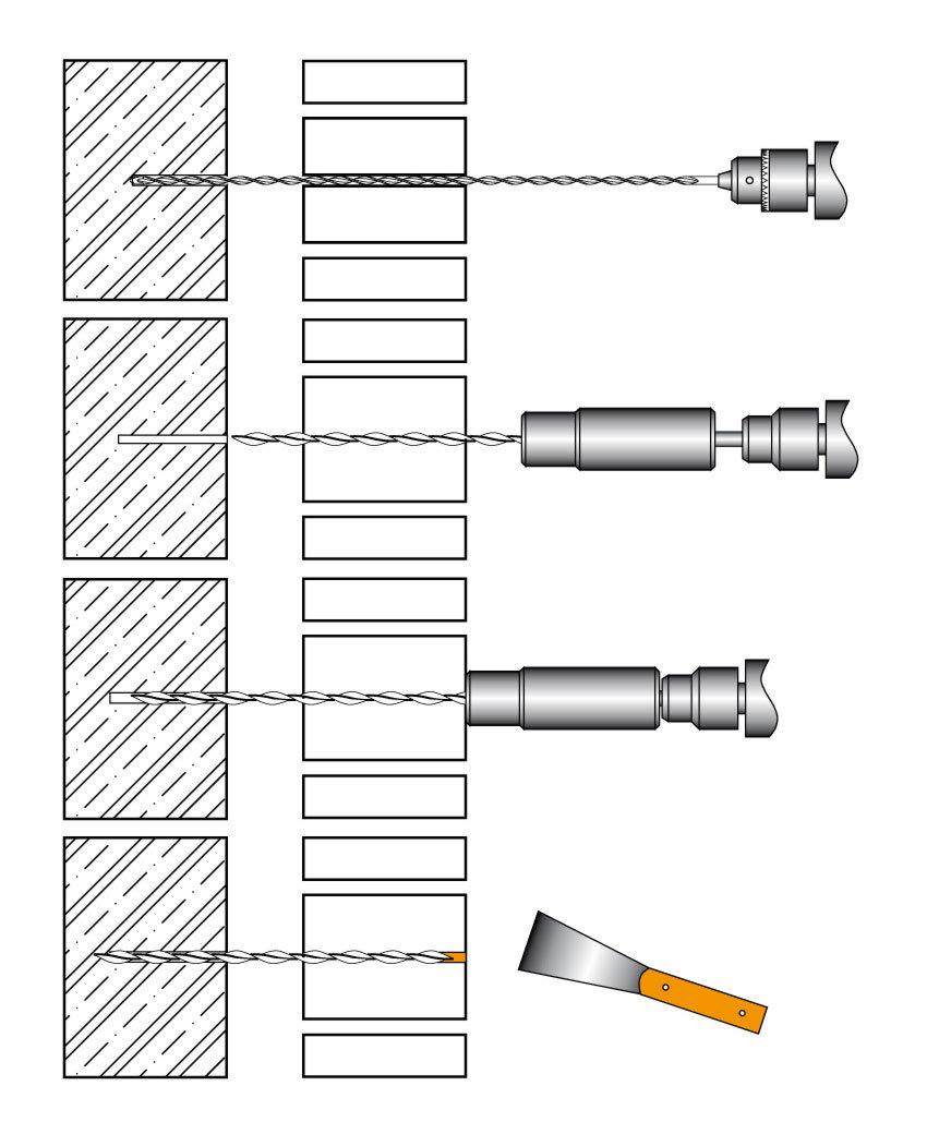 helikální výztuž STATIdry